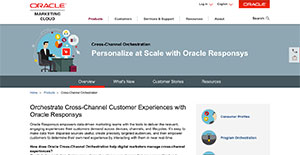 oracle responsys reviews overview pricing and features