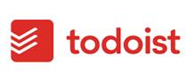 Logo of Todoist