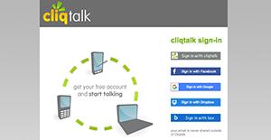 Logo of Cliqtalk