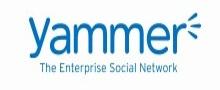 Logo of Yammer